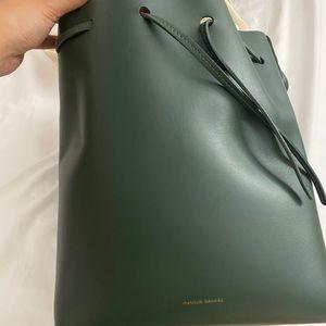 Large Mansur Gavriel Bucket Bag